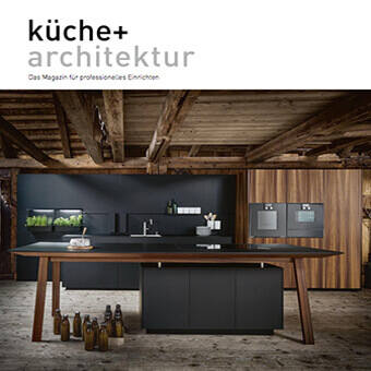 "Press release at ""küche + architektur"""