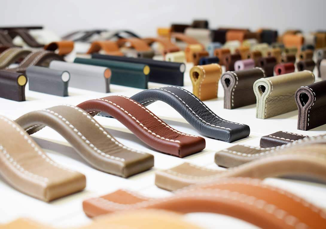Furniture leather handles handcraftet in germany by minimaro - luxury furniture handles