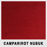 Camparirot Nubuk / campari red nubuck