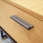 Preview: cabinet hardware made of leahter