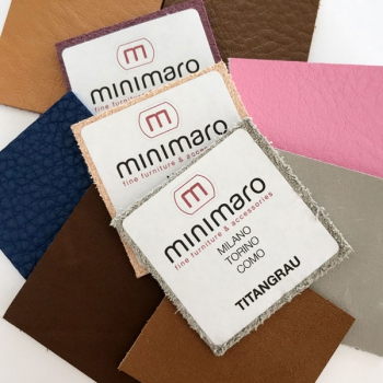 Color samples for handle series MILANO, COMO and CHALET