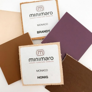 Color samples for handle series MONACO