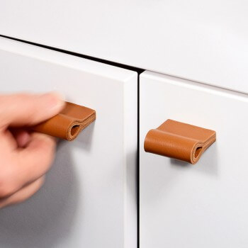Leather handles for every type of furniture