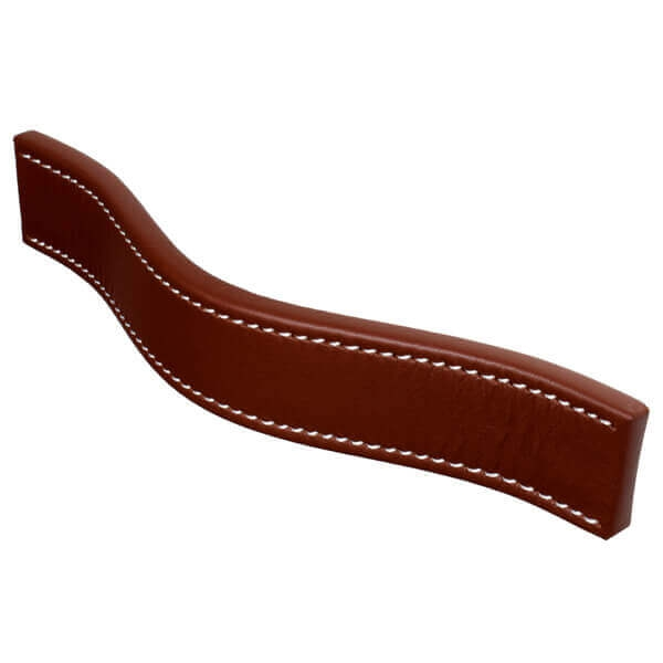 Furniture handle with soft feel